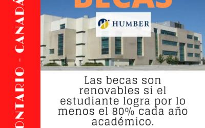 Becas de licenciatura/grado en Humber College Ontario, Canadá