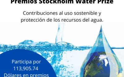Premios uso y protección de los recursos del agua.